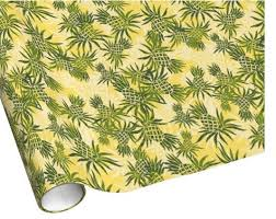 pineapple wrapping paper hawaiian wrapping paper the hawaiian home