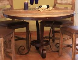 Antique Round Dining Table Antique Multicolor Round Dining Table