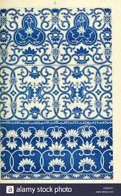owen jones exles of ornament 1867 plate 009 stock photo