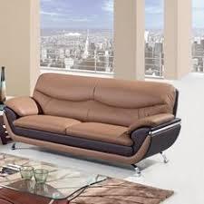 global furniture bonded leather sofa global furniture 3250 bonded leather sofa in grey black u3250