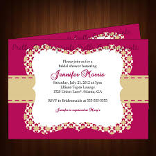 free wedding shower invitation templates for microsoft word