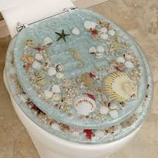 themed toilet seats nautical inspired bathroom ideas with floor tiles and marine