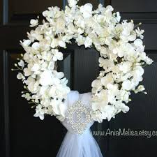 best white wreaths for front door products on wanelo