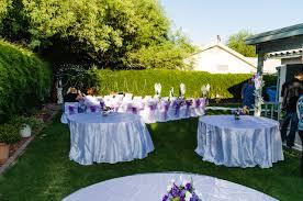 small backyard reception ideas triyae com u003d purple backyard wedding various design inspiration