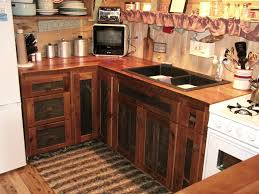 rustic barn wood kitchen cabinets reclaimed barnwood kitchen cabinets vienna woodworks