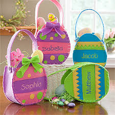 custom easter baskets for kids personalized easter baskets easter egg treat bags get