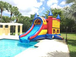miami party rental bouncer with slide miami best party rental service and quality