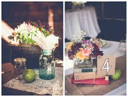 country chic wedding centerpieces country style wedding