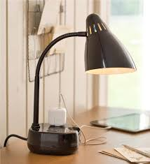 Desk Lamp With Power Outlet Table Lamps With Outlets Best Inspiration For Table Lamp