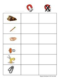magnet worksheet pre k k 1 worksheets for kindergarten