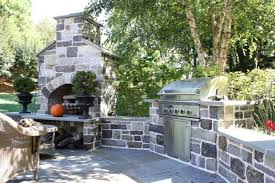 Backyard Bar And Grill West Springfield by Kitchens U0026 Grills Burkholder Landscape
