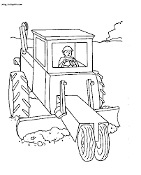 construction truck coloring pages az coloring pages