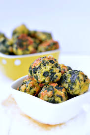 spinach balls healthy appetizers sweetashoney