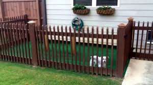 backyard dog kennel idea easy diy youtube