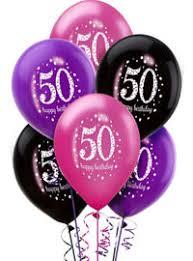 50th birthday balloons party city