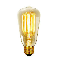 home depot edison light bulbs globe electric 01321 60w vintage edison s60 squirrel cage