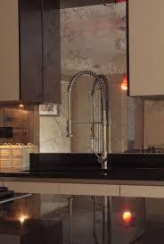 mirror kitchen backsplash kitchen antique mirror backsplash installed mirrored kitchen ideas
