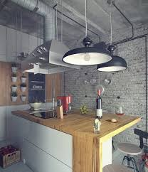 a distinctly industrial style with reclaimed pine wooden