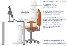 hauteur bureau ergonomie l ergonomie au bureau fabienne krotoff ostéopathe d o