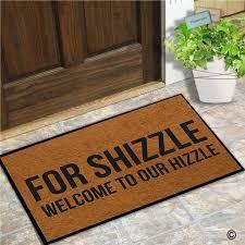 amazon com msmr doormat entrance mat funny doormat for