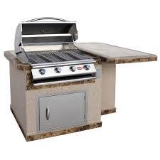 Kitchen Island Base Kits Cal Flame 6 Ft Outdoor Kitchen Island Frame Kit Kd F6002 The