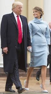 ralph lauren black friday 2017 melania trump channels jackie kennedy at inauguration daily mail