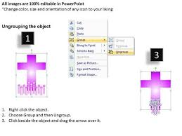jesus cross and candles powerpoint slides and ppt presentation