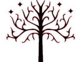 tree of gondor decal etsy