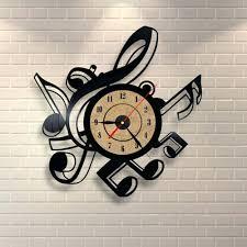 Living Room Clocks Drew Oversized Metal Wall Clockcontemporary Abstract Clocks Uk