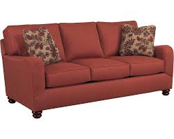 Red Sofa Set by Parker Red Sofa Set With Cushion Upholstered Traditional English