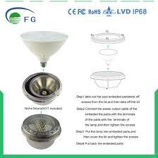 pentair pool light parts china 12v 35w led par56 e27 underwater swimming pool light for
