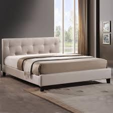 Modern Beds Baxton Studio Harriette Platform Bed Hayneedle