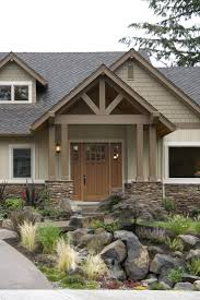home design brick craftsman style ranch homes window treatments