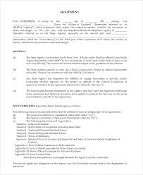 management consulting agreement retainer agreement template
