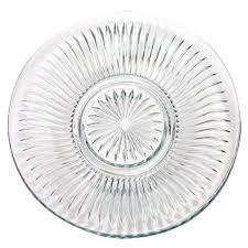 bulk cut glass dinner plates 10 at dollartree