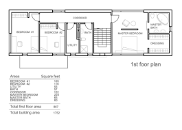 Three Bedroom House Plans House Floor Plans With Measurements In Addition 3 Bedroom House