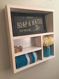 Rustic Chic Home Decor Amazon Com Rustic Bathroom Shelf Wooden Shelves Rustic Home