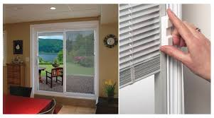 Single Patio Doors With Built In Blinds 19 Patio Door Mini Blinds Electrohome Info