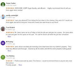 jarvis tree service inc reviews