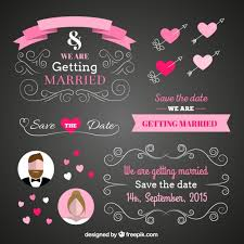 wedding backdrop vector free wedding card in blackboard style free vector design ui web