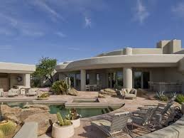 Gorgeous Desert Mountain Retreat With Two Bedroom Guest South Adobe House Plans Designs