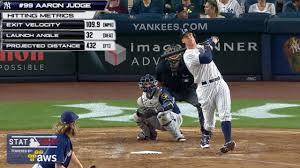 Aaron Judge Yankees Slugger Becomes Tallest Center Fielder - aaron judge sets yankees rookie hr record mlb com