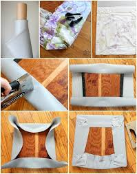 Dining Chair Fabric Dining Chair Makeover How To Strip Paint And Recover Chairs