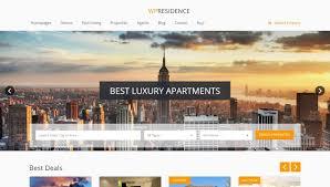 modern real estate wordpress themes 2015
