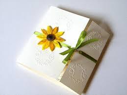 sunflower wedding invitations sunflower wedding invitation kits wedding party decoration