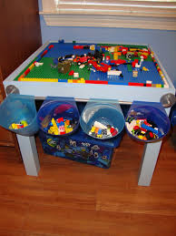 duplo table with storage pin by crystal slauson loy on playroom ideas pinterest