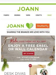 joann fabrics website jo fabric and craft store don t forget your free calendar