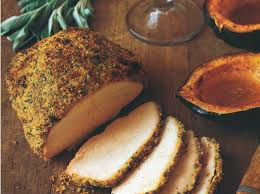 turkey breast with mustard crumbs recipe from scratch