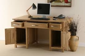 Solid Computer Desk Oak Computer Desks For Home Office Charming Robust Pc Within Solid