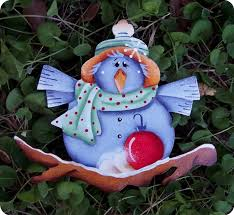 blue bird ornament от countrycharmers на etsy